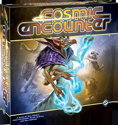 Cosmic Encounter 42nd Anniversary Edition box