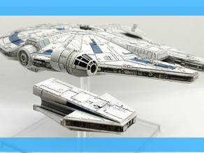 X-Wing Ship Reviews - Lando's Millennium Falcon