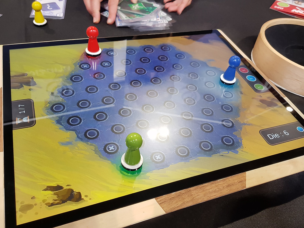 Wizama tablet video board game