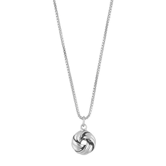 Snö of Sweden Knot Small Pendant Necklace