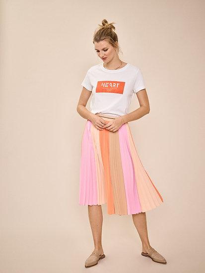 Mosmosh Plisse Block Skirt