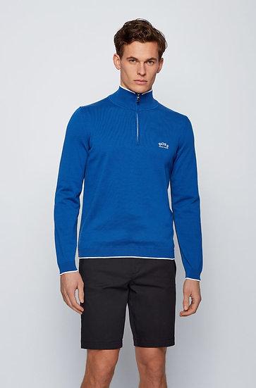 Hugo Boss Zip-neck sweater