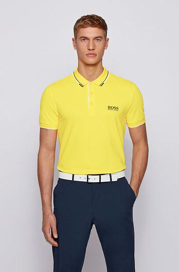 Hugo Boss Active-stretch golf polo shirt