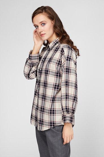 Gant Overized Tech Prep Shirt Woman