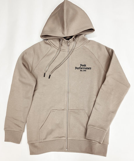Peak Performance Original Zip Hoodie Woman