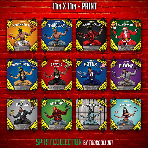 Spirit Collection Prints by TooKoolTurt