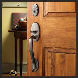 door hardware installation and replacement, handleset, deadbolt, peephole, kickplate