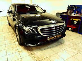 Замена лобового стекла Mecedes-Benz E-alss w213