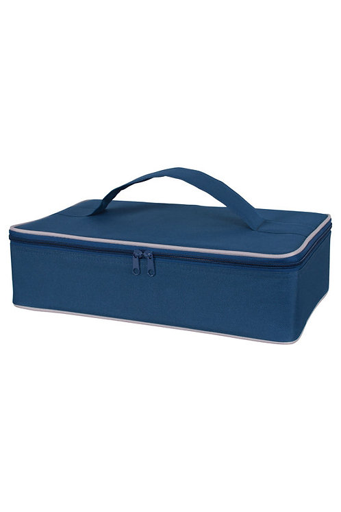 Blue Personalized Insulated Casserole Carrier