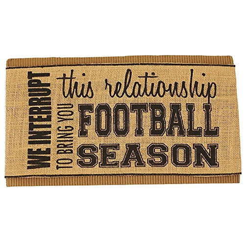 Interrupt Relationship for Football Pillow Wrap