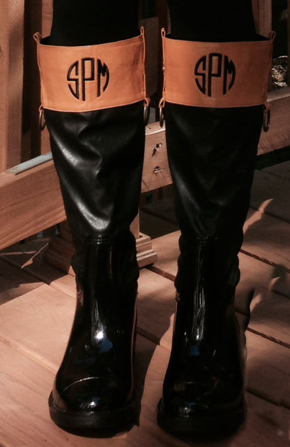 Personalized Monogrammed Rain Boots