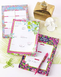 Lilly Pulitzer List Pad Pink Lemonade