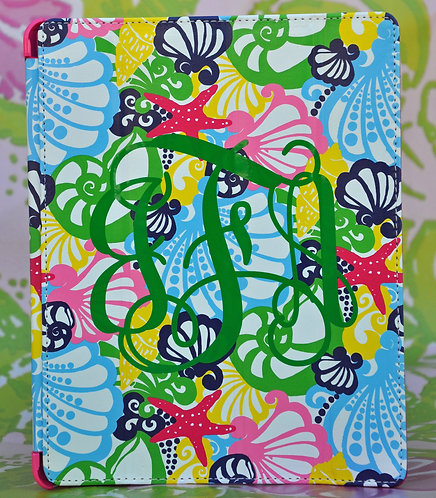 Personalized Lilly Pulitzer Ipad Fitted Case