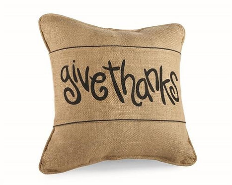 Give Thanks Pillow Wrap