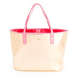 ban.do The Everything Tote-Metallic Rose Gold