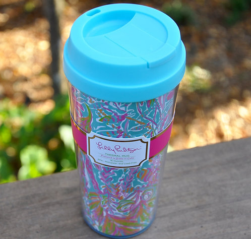 Lilly Pulitzer Thermal Mug Scuba to Cuba