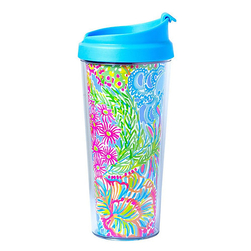 Lilly Pulitzer Thermal Mug - Lovers Coral