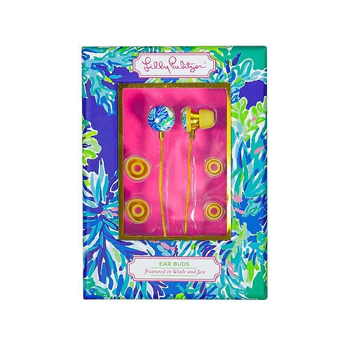 Lilly Pulitzer Ear Bud - Wade and Sea