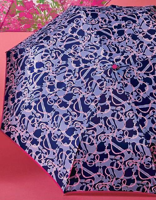 Monogrammed Lilly Pulitzer Umbrella-Booze Cruise