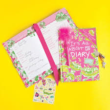 Monogrammed Lilly Pulitzer Diary