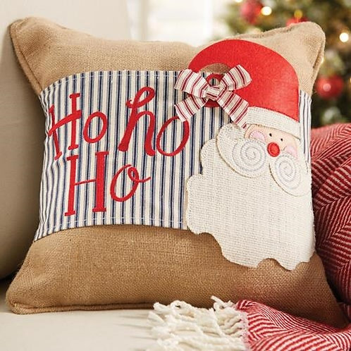 Ticking Santa Pillow Wrap