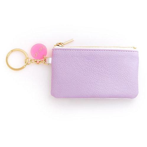 ban.do Zip Zip Keychain Pouch Lilac
