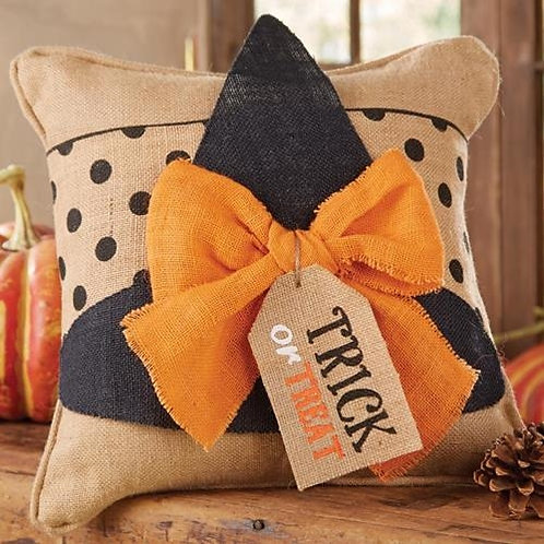 Halloween Witch Hat Pillow Wrap