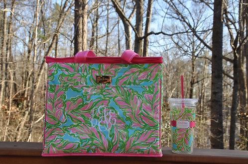 Lilly Pulitzer Insulated Cooler -The Bungalows