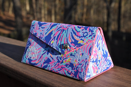 Lilly Pulitzer Sunglass Case Shrimply Chic