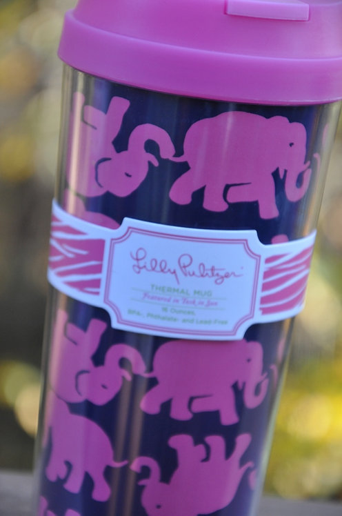 Lilly Pulitzer Thermal Mug Tusk in the Sun