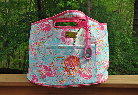 Monogrammed Lilly Pulitzer Beverage Bucket