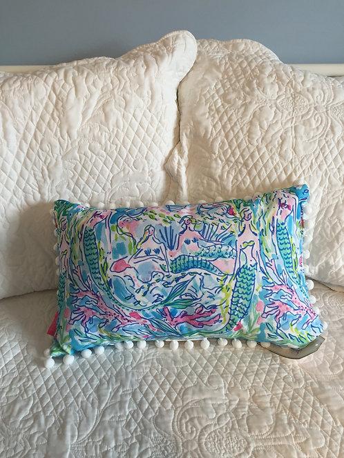 Medium Indoor/Outdoor Pillow - Mermaids 5x5