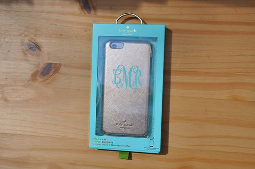 Kate Spade New York: Rose Gold iphone 6 plus Case
