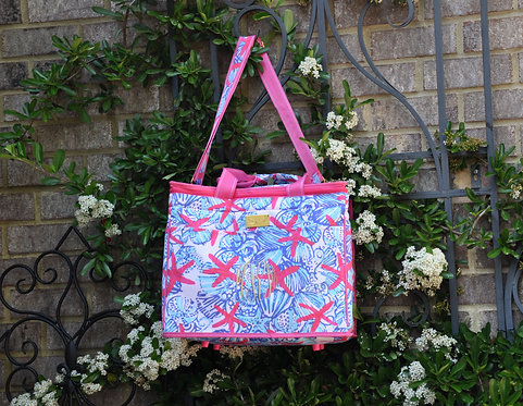 Monogrammed Lilly Pulitzer Insulated Cooler