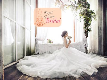 Mewah! Royal Garden Bridal Luncurkan Koleksi Gaun Pengantin Ala Putri Raja