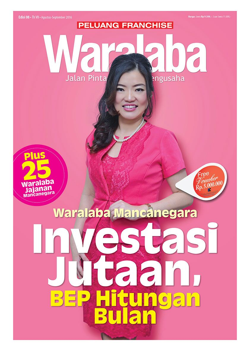 Cover Tabloid Waralaba