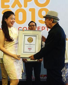 Penghargaan dari Asosiasi Franchise Indo
