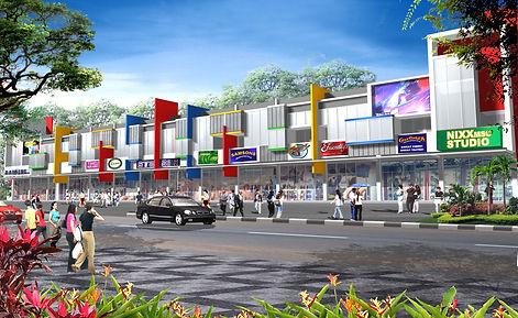 Kompleks Ruko oleh Royal Bangun Indonesi