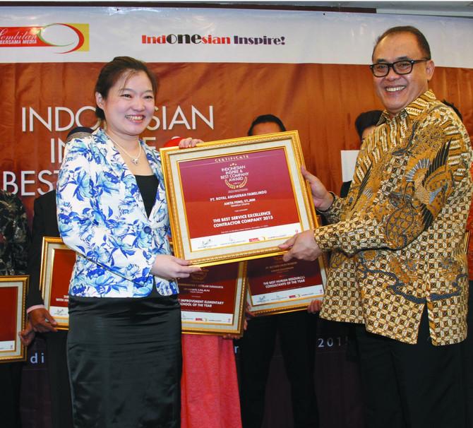 Royal Construction Memperoleh Penghargaan