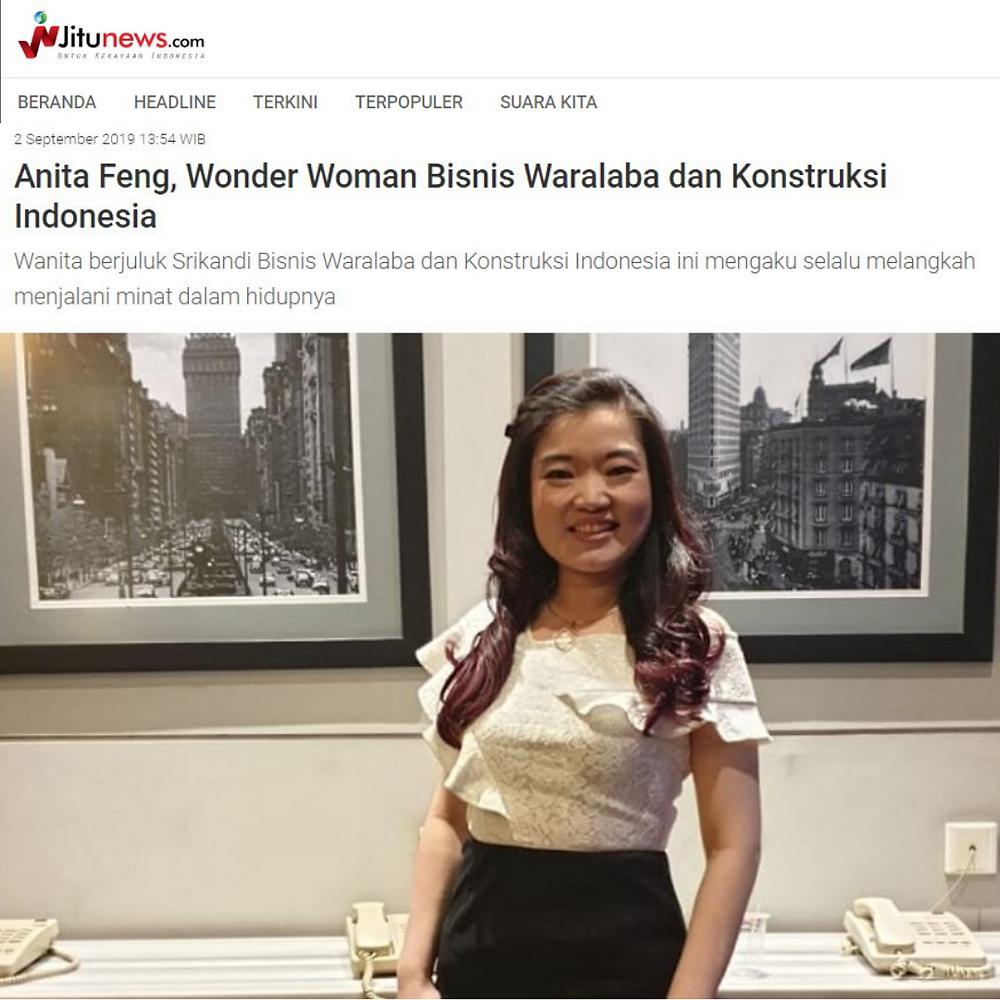 Wanita berjuluk Srikandi Bisnis Waralaba dan Konstruksi Indonesia ini mengaku selalu melangkah menjalani minat dalam hidupnya
