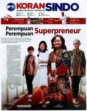 Koran Sindo Perempuan-perempuan Superpre