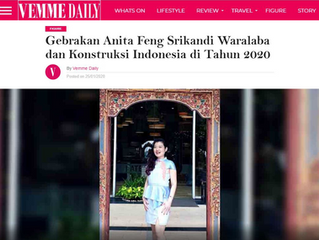 Gebrakan Anita Feng Srikandi Waralaba dan Konstruksi Indonesia di Tahun 2020