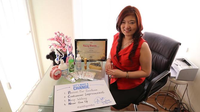 Anita Feng, Srikandi Tangguh di Bisnis Spa & Konstruksi