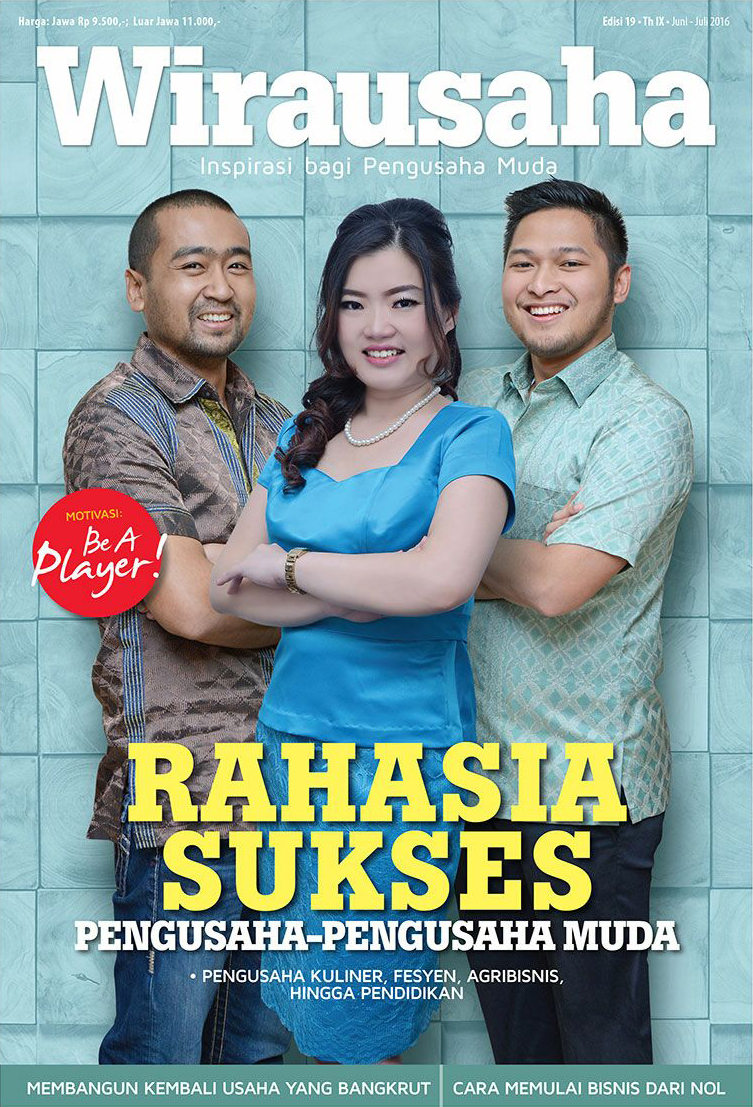 Cover Tabloid Wirausaha