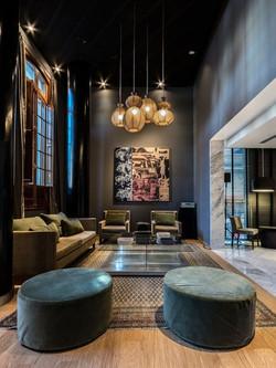 jasa interior lobby nuansa cozy