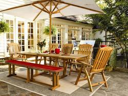 amusing-patio-decor-with-teak-warehouse-teak-bench-outdoor-and-teak-outdoor-dining-set-plus-pation-u