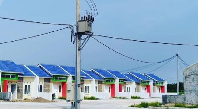 Proyek pembangunan perumahan di Permata