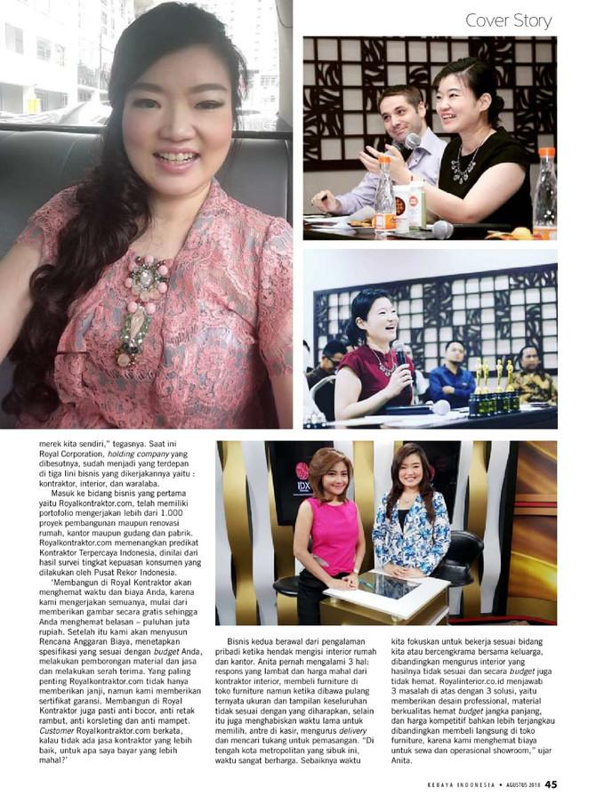 Royal Corporation Berkomitmen Menjadikan Merek Indonesia Pemimpin Pasar di Negeri Sendiri