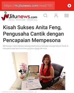 Kisah Sukses Anita Feng, Pengusaha Canti