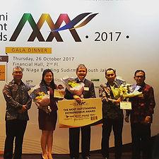 Prasetiya Mulya Alumni Award di Financia